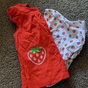 Strawberry short set
